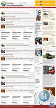 World-News (Test-Templates) для DLE 9.8