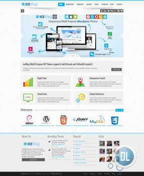 ThemeForest - iceMag Multi Purpose Responsive Theme v.1.0.1