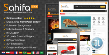 ThemeForest - Sahifa v3.1.1 - Responsive WordPress News, Magazine, Blog