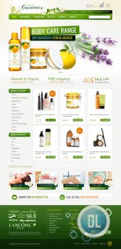 OT Cosmetics - Beauty Shop for Joomla 2.5