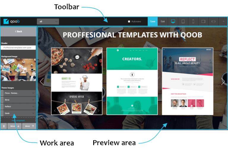 Плагин Qoob Page Builder – инструмент для работы в WordPress