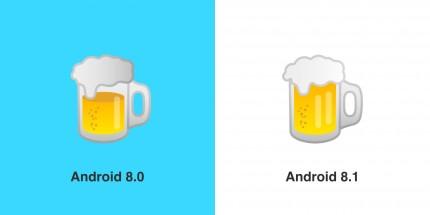 Google поправила бургер и пиво в Android