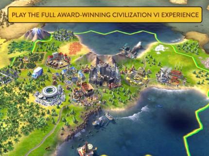 Пошаговая стратегия Civilization VI вышла для iPad