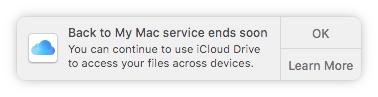 Apple лишит macOS «Доступа к моему Mac»